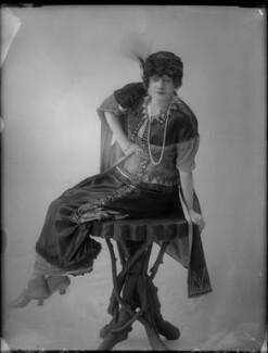 Gertie Millar as Lady Babby in 'Gipsy Love', by Bassano Ltd - NPG x28593