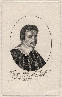 Thomas Wentworth, 1st Earl of Strafford, by George Glover, after  Unknown artist - NPG D16289