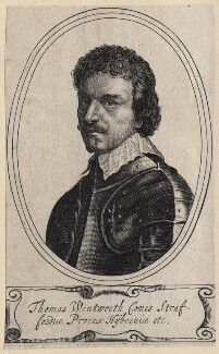 Thomas Wentworth, 1st Earl of Strafford, after Sir Anthony van Dyck - NPG D16309