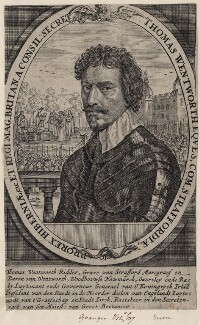 Thomas Wentworth, 1st Earl of Strafford, after Sir Anthony van Dyck - NPG D16311