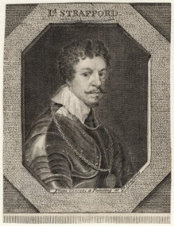 Thomas Wentworth, 1st Earl of Strafford, after Sir Anthony van Dyck - NPG D16316