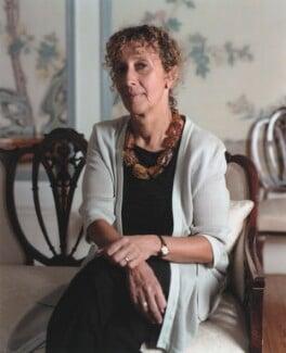 Susan Mary Woodford-Hollick, Lady Hollick, by Sal Idriss - NPG x126401