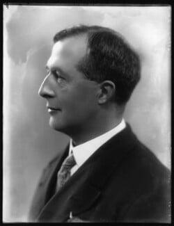 Sir Westcott Stile Abell, by Bassano Ltd, 27 January 1928 - NPG x124230 - © National Portrait Gallery, London