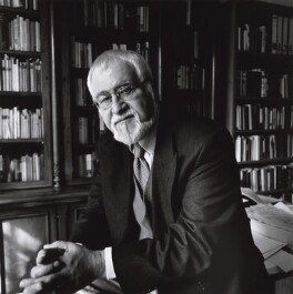 Douglas Eaglesham Dunn, by Norman McBeath, 3 April 2003 - NPG  - © Norman McBeath / National Portrait Gallery, London