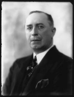 Sir Morgan George Crofton, 6th Bt, by Bassano Ltd - NPG x124271