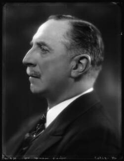 Sir Morgan George Crofton, 6th Bt, by Bassano Ltd - NPG x124272