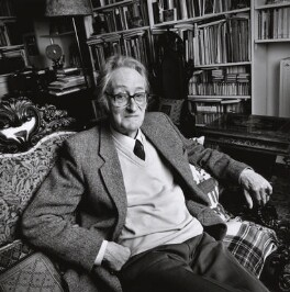 (Alfred) Charles Tomlinson, by Norman McBeath, 22 May 2003 - NPG x126409 - © Norman McBeath / National Portrait Gallery, London