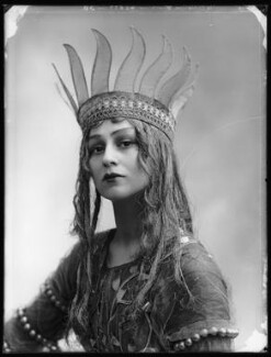 Christine Silver as Titania in 'A Midsummer Night's Dream', by Bassano Ltd, 1913 - NPG x102649 - © National Portrait Gallery, London