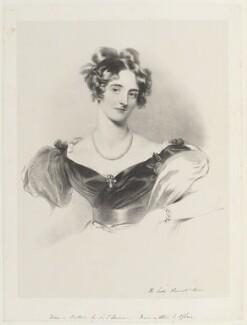Harriet Windsor-Clive (née Windsor), Baroness Windsor when Lady Harriet Clive, by Richard James Lane, after  Sir Thomas Lawrence - NPG D18995