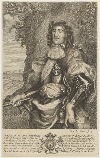 George Monck, 1st Duke of Albemarle, by Edward Davis (Le Davis) - NPG D19006