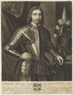 Sir Richard Sutton, by John Faber Sr, published by  Henry Parker, after  Unknown artist - NPG D19024