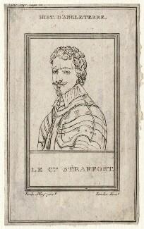 Thomas Wentworth, 1st Earl of Strafford, by Landon, after  Sir Anthony van Dyck, (circa 1636) - NPG D16331 - © National Portrait Gallery, London