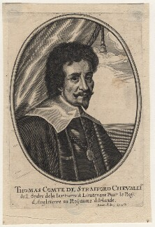Thomas Wentworth, 1st Earl of Strafford, after Sir Anthony van Dyck - NPG D16335