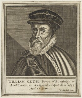 William Cecil, 1st Baron Burghley, by William Marshall - NPG D19050