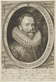 Dudley Carleton, Viscount Dorchester, by Willem Jacobsz Delff, after  Michiel Jansz. van Miereveldt - NPG D19071