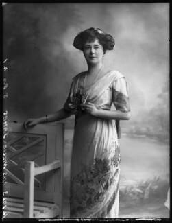 Evelyn Elizabeth Brinton (née Forbes), by Bassano Ltd - NPG x102733