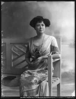 Evelyn Elizabeth Brinton (née Forbes), by Bassano Ltd - NPG x102734