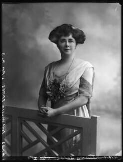 Evelyn Elizabeth Brinton (née Forbes), by Bassano Ltd - NPG x102735