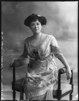 Evelyn Elizabeth Brinton (née Forbes), by Bassano Ltd - NPG x102736