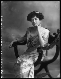 Evelyn Elizabeth Brinton (née Forbes), by Bassano Ltd - NPG x102737