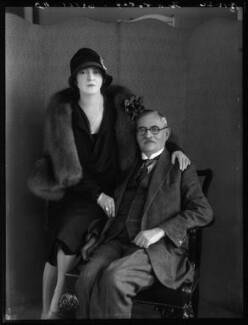 Minoru Foley (née Greenstone), Lady Foley; Henry ('Harry') Greenstone, by Bassano Ltd - NPG x124362