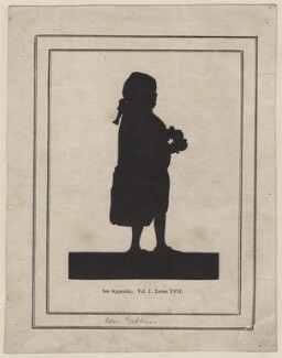 Edward Gibbon, after Unknown silhouettist - NPG D16357