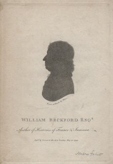 William Beckford, published by Vernor & Hood, after  John Miers - NPG D16364