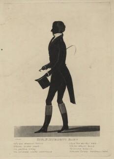 Sir Francis Burdett, 5th Bt, by James Bruce - NPG D16369