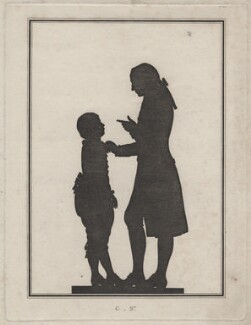Fritz von Stein; Johann Wolfgang von Goethe, after Unknown silhouettist - NPG D16351