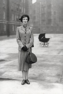 Wenda Parkinson (née Rogerson), by Norman Parkinson - NPG x30084