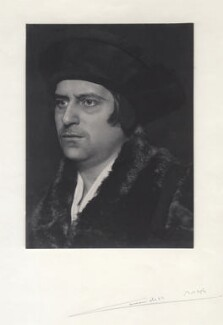 Cavendish Morton as Sir Thomas More, by Cavendish Morton - NPG x45647