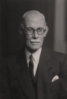 Sir George Russell Clerk, by Walter Stoneman - NPG x165670