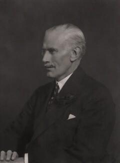 Sir George Russell Clerk, by Walter Stoneman - NPG x165671