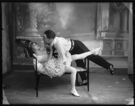 Ida Crispi as Gaby Deslys; Robert Hale (John Robert Hale-Munro) in the Revue 'Everybody's Doing It', by Bassano Ltd - NPG x102804