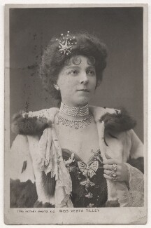 Vesta Tilley, published by Rotary Photographic Co Ltd - NPG x126416