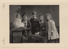 Giles family group, by A.P. Steer - NPG x126421