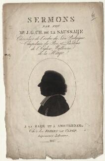 Jacques George Chantepie de la Saussaye (Jaques George Chantepie de la Sausjaije), after Unknown artist - NPG D16380