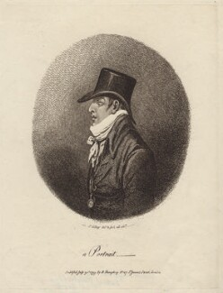 'A portrait' (Ernest Augustus, Duke of Cumberland and King of Hanover), by James Gillray, published by  Hannah Humphrey - NPG D16385
