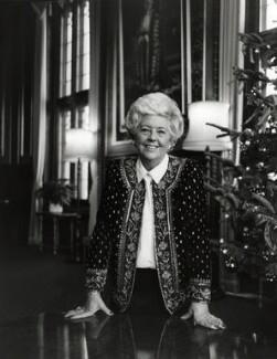 Betty Boothroyd, Baroness Boothroyd, by Anne-Katrin Purkiss - NPG x76282