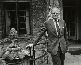 Winston Churchill, by Anne-Katrin Purkiss, July 1988 - NPG x32737 - © National Portrait Gallery, London