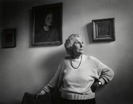 Livia Ruth Gollancz, by Anne-Katrin Purkiss - NPG x36184