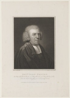 John Newton, by Joseph Collyer the Younger, after  John Russell - NPG D16282