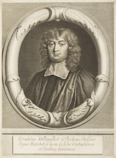 Edward Stillingfleet, by Abraham Blooteling (Bloteling), after  Sir Peter Lely - NPG D19104