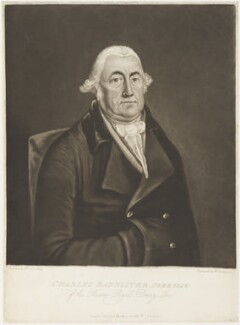 Charles Bannister, by William Dickinson, published by and after  W.C. Lindsay - NPG D19114