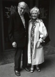 Bernard Miles; Josephine Wilson, by Anne-Katrin Purkiss - NPG x35113