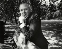 Charles Geoffrey Nicholas Kay-Shuttleworth, 5th Baron Shuttleworth, by Anne-Katrin Purkiss - NPG x45807