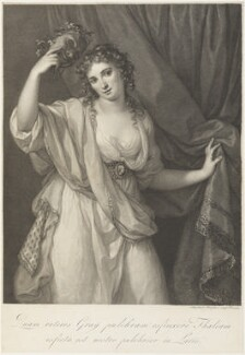 Emma Hamilton, by Raphael Morghen, after  Angelica Kauffmann - NPG D19120