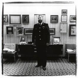 Sir (Cyril) James Anderton, by Steve Pyke - NPG x30435