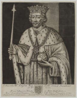 King Edward II, by John Faber Sr, published by  Henry Parker - NPG D19149