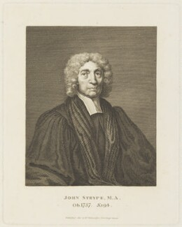 John Strype, published by William Richardson - NPG D19156
